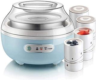 SJYDQ Yaourt Automatique Mini Compact ménagers Machine, Doublure en Acier Inoxydable yogourt Machine Fermentation Coupe Ma...