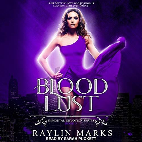Blood Lust audiobook cover art