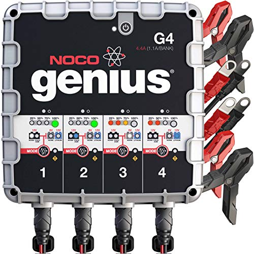 NOCO Genius G4 Marine Battery Charger