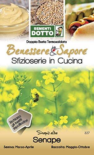 Sdd DT BN_Senape Seme, Bianco, 0.02x20.2x12.2 cm