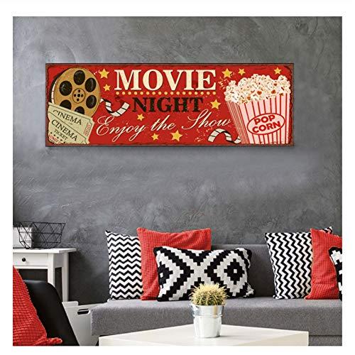 Suuyar Vintage Cinema Sign