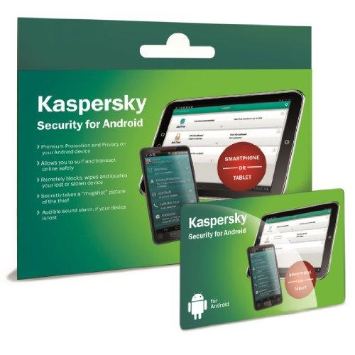 Kaspersky Security für Android Smartphones und Tablets, 1 Nutzerlizenzkarte