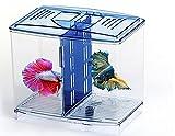 CHENGYIDA 1 caja de almacenamiento de acrílico para tanque de peces, caja de lápices, mini pecera, color al azar