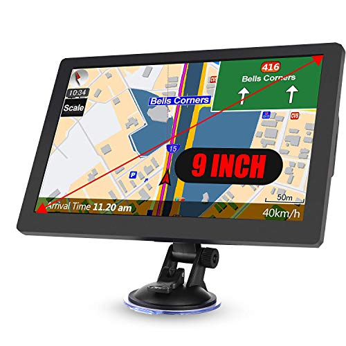 Truck Sat Nav, 2020 Latest 9 inch GPS Navigation for Trucks Lorry...