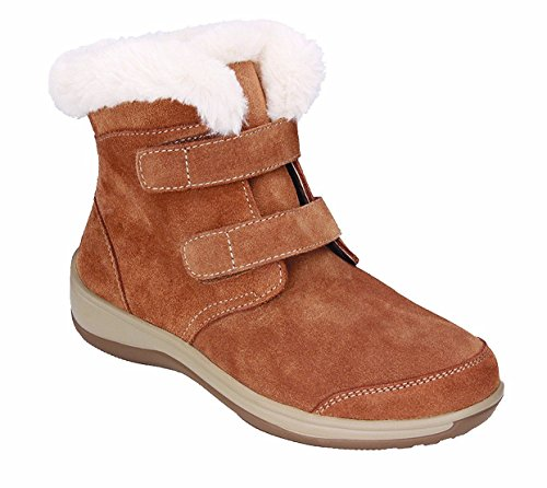 Orthofeet Florence Plantar Fasciitis Pain Relief Women's Strap Leather Boots