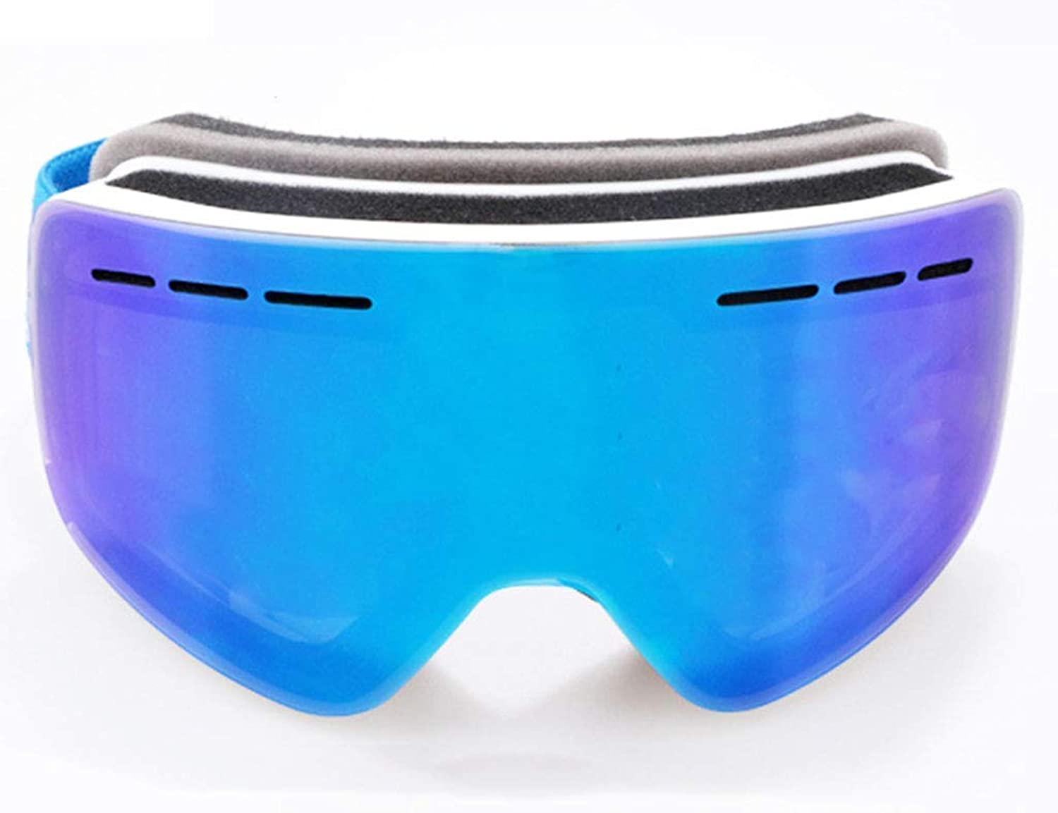 Ski Goggles Sports Glasses Glasses Cylindrical Double-Layer Anti-Fog Goggles Magnet Ski GogglesJBP43 (color   D)