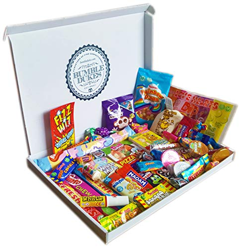 Bumbledukes British Sweets Large Selection Box Retro Sweets Contemporary Confectionery Sweets Hamper Christmas Present