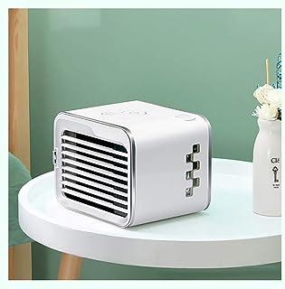 Mini Aire Ccondicionado Portátil Personal, Mini Enfriador de Aire Portátil USB, Ventilador de Escritorio con Regulación de Viento de 3 Velocidades, Adecuado para el Hogar, La Oficina y El Dormitorio