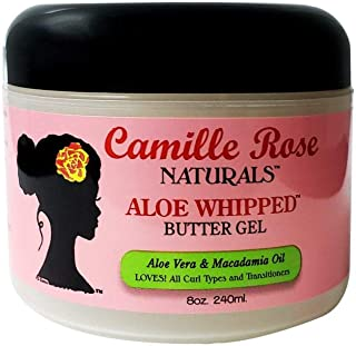 Camille Rose Naturals Aloe Whipped Butter Gel, 8 Ounce