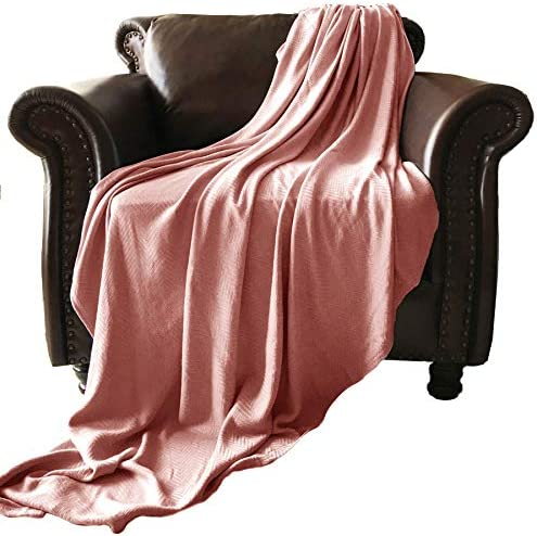 Super Cozy 100 Bamboo Fiber Blanket Ultra Softness and smothness Like Silk Drop Well with Heavy product image