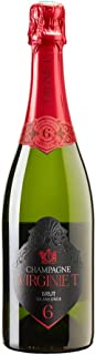 Champagne Virginie T 6 Ans D'age with Regular Box, 750 ml