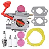 Anxingo 545081855 Carburetor for Craftsman Poulan Pro Weedeater BVM200C BVM200VS P200C GBV325 P325 200mph Blower Replaces Walbro WT-875 WT-875A Carb