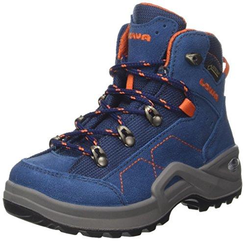 Lowa Unisex-Kinder Kody Iii GTX Mid J Trekking- & Wanderstiefel, Blau (Blue/orange 6021), 39 EU