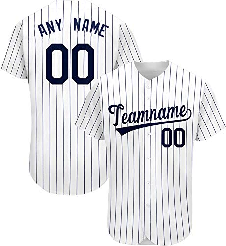 CCH Custom Baseball Jersey Shirt Personalize Your Team Name & Number for Men Women Youth Fans Gift Men/Women/Youth