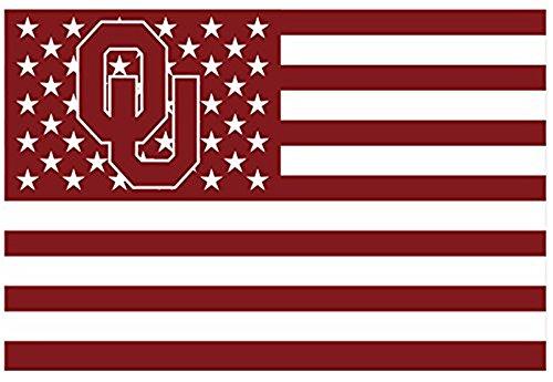 Oklahoma Sooners 3x5FT Stars and Stripes Flag Sooners-Nation