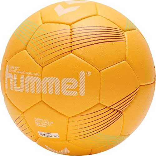 hummel Unisex-Adult Concept HB Handball, ORANGE/RED/Green, 3