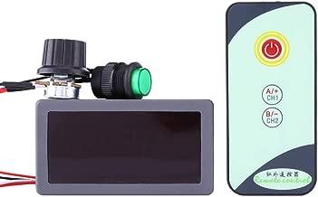 Controlador de velocidad del motor de CC Universal DC 6V 12V / 24V Controlador de velocidad Pantalla digital con control remoto IR Para camión de automóvil Motor