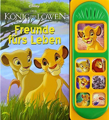 Disney - Der König der Löwen . Freunde fürs Leben - Pappbilderbuch mit 7 tollen Geräuschen für Kinder ab 3 Jahren