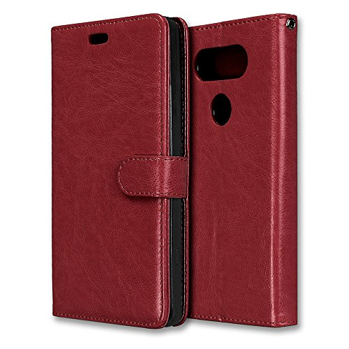 Laybomo Coque Sony Xperia XA1 Ultra Etui Housse PU Cuir Pochette Portefeuille Coque Aimant Protecteur Doux tpu Cover [Cadre Photo] Housse Coque Etui pour Sony Xperia XA1 Ultra (Marron)