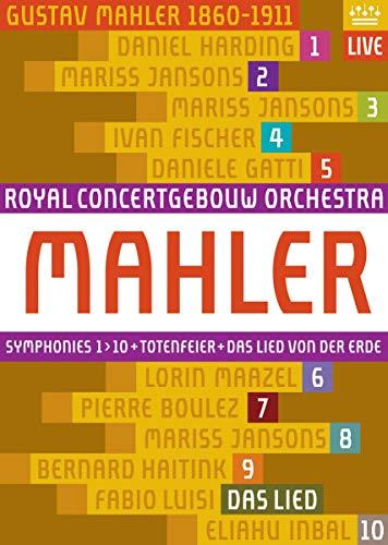 Gustav Mahler - Sinfonien 1-10 (Royal Concertgebouw) [10 DVDs]