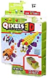 Qixels 3D Cubes Refill Theme Pack - Alien Strikers (Dispatched From UK)