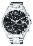 Citizen Herren Chronograph Quarz Uhr mit Titan Armband AT8130-56E