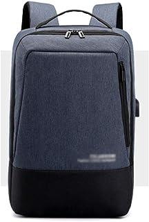 Hcccyuyuucsjbb حقائب الظهر للكمبيوتر رجالية، حقيبة يد رياضية، حقيبة سفر كبيرة على ظهره سفر PC، مزود بذهب واحد مزود بأنبوب ...