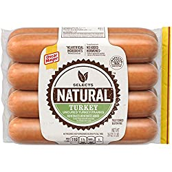 Oscar Mayer Selects Natural Turkey Franks (8 Count)