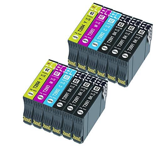 Caidi 29XL - Cartucho de tinta para Expression Home XP-235 XP-245 XP-247 XP-330 XP-332 XP-335 XP-342 XP-345 XP-430 XP-432 XP-435 (6 negro, 2 cian, 2 magenta, 2 amarillo)
