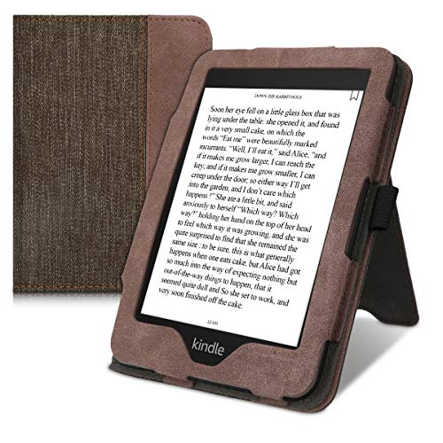 kwmobile Flip Hülle kompatibel mit Amazon Kindle Paperwhite (10. Gen - 2018) -...