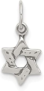 925 Sterling Silver Small Jewish Jewelry Star Of David Pendant Charm Necklace Religious Judaica Fine Jewelry For Women