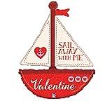 Globo Sail Away With Me Valentine Forma 94cm