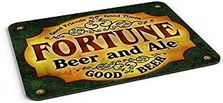 Fortune Beer and Ale Barmat/Mousepad/Desk Valet