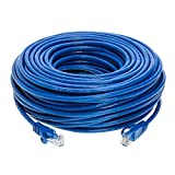 Cables Direct Online Snagless Cat5e Ethernet Network Patch Cable Blue 75 Feet Wire