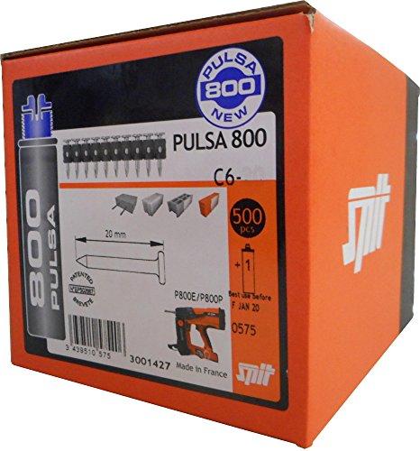 Spit Standardnägel C6-25 (10-er magaziniert) mit Gaskartusche