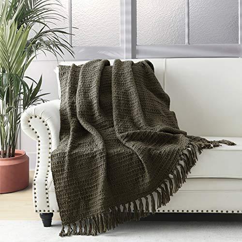 Horimote Home - Coperta spessa e spessa per divano, sedia, divano letto, in stile bohémien, con...