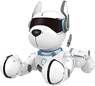 Smart Talking Robot Dogs ,Goglor RC Wireless Remote Voice Control Intelligent Toys - Electronic Interactive Pet Puppy Robo...