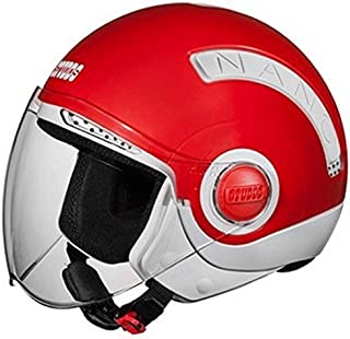 Studds Nano Helmet Red/White (560MM)