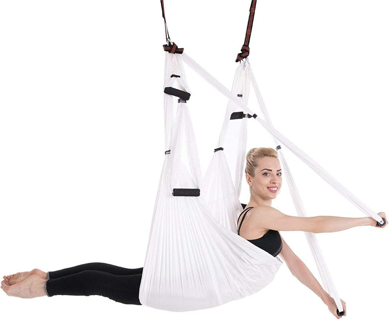 Mustbe Strong Aerial Yoga Flying, Antigravity Decken Hnge Yoga Sling Trapez Sling Inversion Tool für Erwachsene Kinder Yoga Kit