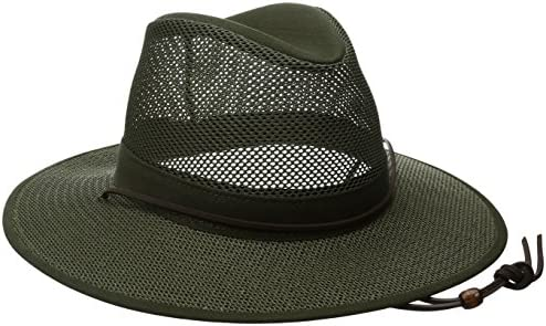 Henschel Men s Crushable Aussie Mesh Breezer UPF 50 Hat Olive X Large product image