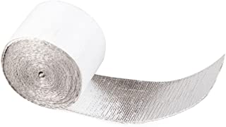 YKT-AL024 5mx5cmx1.5mm Glass Fibre Exhaust Muffler Pipe Heat Insulation Adhesive Tape Car Motorcycle Heat Insulation Tape