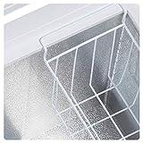CHiQ FCF197D Gefrierschrank Groß 197 L | Gefriertruhe mit statischem Kühlungsystem | Tiefkühlschrank | 82,5 x 98 x 56 cm (HxBxT) | A+ Energieverbrauch 219 kWh/Jahr | Großer Tiefkühler | Leise 40db - 3