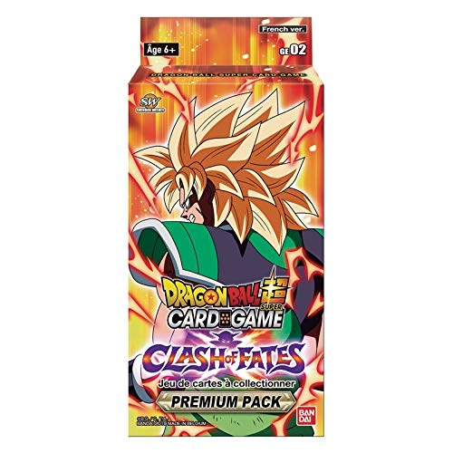 Dragon Ball Super Card Game - Clash of Fates - Premium Pack (français)