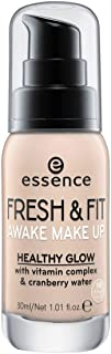 essence | Fresh & Fit Awake Make Up Foundation with Vitamin Complex & Cranberry Water | Fresh Ivory & Cruelty Free