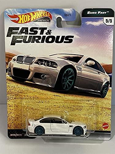 Hot Wheels BMW M3 E46 Fast & Furious Euro Fast 1:64 GPK52 GBW75