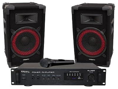 ibiza sound DJ150 Disco Sound Kit