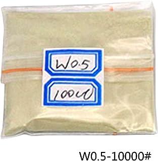 Polvo de pulido en polvo de diamante de 100 quilates/20 g W0.5 a W40, herramientas de pulido en polvo para gemas de cerámica de jade carburo