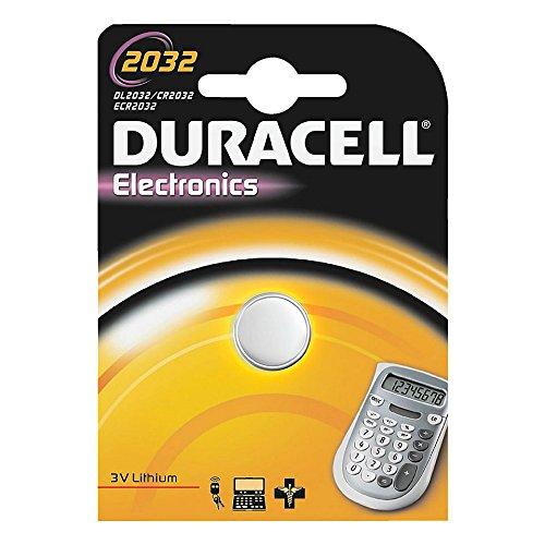 Pilas de botón de litio – CR 2032, 3 V Tipo/Voltaje CR 2032, 3 V Capacidad 220 mAh Contenido 1 pieza (cantidad = 2)