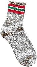 【日本一の履き心地】奈良産靴下SUNNY NOMADO サニーノマド スラブネップ3本ラインソックス L型ソックス TMSO-004 lady's レディースSOCKS 靴下 綿 麻 COTTON HEMP Acrylic 日本製 MADE IN JAPAN