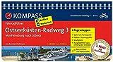KOMPASS Fahrradführer Ostseeküsten-Radweg 3, Von Flensburg nach Lübeck: Fahrradführer mit Routenkarten im optimalen Maßstab.
